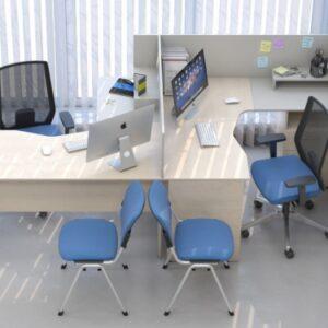 Крісла для персоналу та відвідувачів